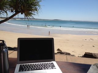 Working away on TED X Noosa...at Noosa